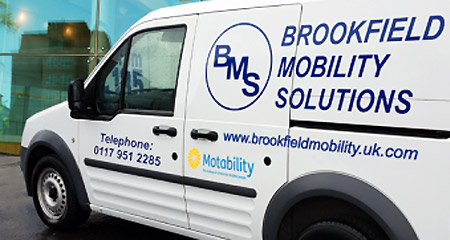 Brookfield Mobility Solutions service van