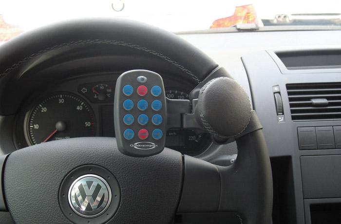 Remote control - Steering wheel panel
