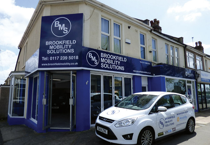 Brookfield Mobility Solutions - Showroom entrance